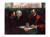 Examination at the Faculty of Medicine, 1901 by Henri de Toulouse-Lautrec, 1901 - various sizes