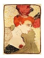 Mlle. Marcelle Lender, 1895 by Henri de Toulouse-Lautrec, 1895 - various sizes - $16.49