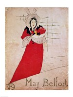 May Belfort, France, 1895 Fine Art Print