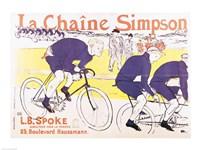 The Simpson Chain, 1896 by Henri de Toulouse-Lautrec, 1896 - various sizes, FulcrumGallery.com brand
