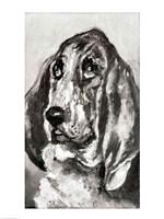 Head of a Dog Running, 1880 Fine Art Print