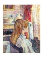 Woman at the Window, 1893 by Henri de Toulouse-Lautrec, 1893 - various sizes