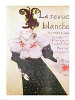 Poster advertising 'La Revue Blanche', 1895 Fine Art Print