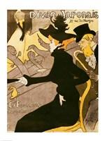 Poster advertising 'Le Divan Japonais', 1892 Fine Art Print