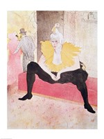 The Clowness Cha-U-Kao Seated, 1896 Fine Art Print
