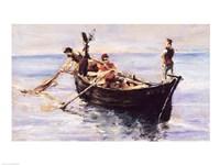Fishing Boat, 1881 by Henri de Toulouse-Lautrec, 1881 - various sizes