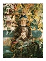 Portrait of Adele Tapie de Celeyran by Henri de Toulouse-Lautrec - various sizes