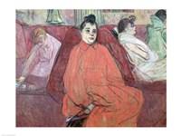 The Divan, 1893 by Henri de Toulouse-Lautrec, 1893 - various sizes