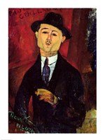 Paul Guillaume by Amedeo Modigliani - various sizes