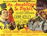 An American in Paris - Gene Kelly Wall Poster
