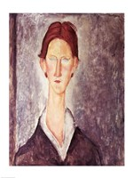 Portrait of a Student by Amedeo Modigliani - various sizes