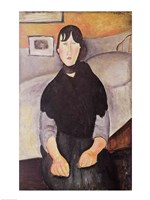 Young Woman of the People by Amedeo Modigliani - various sizes
