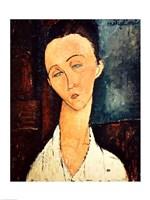 Portrait of Lunia Czechowska, 1918 by Amedeo Modigliani, 1918 - various sizes