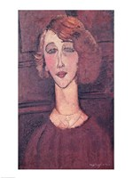 Renee, 1917 by Amedeo Modigliani, 1917 - various sizes