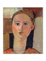 Girl with red hair, 1915 by Amedeo Modigliani, 1915 - various sizes