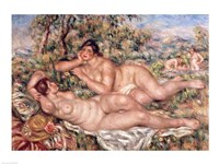 The Bathers - nude women Fine Art Print