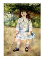 Child with a Whip, 1885 Fine Art Print