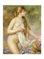Bather with long hair, c.1895 Fine Art Print