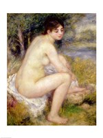 Nude in a Landscape, 1883 Fine Art Print