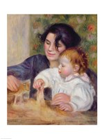 Gabrielle and Jean by Pierre-Auguste Renoir - various sizes