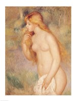 Standing Bather, 1896 by Pierre-Auguste Renoir, 1896 - various sizes, FulcrumGallery.com brand