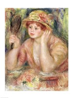 Woman with a Mirror, c.1915 Fine Art Print