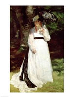 Portrait of Lise, 1867 - standing Fine Art Print