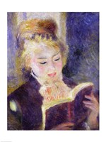 Girl Reading, 1874 Fine Art Print