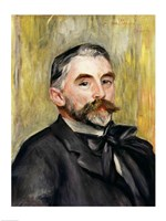 Portrait of Stephane Mallarme Fine Art Print
