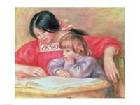Leontine and Coco Fine Art Print