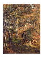 Jules Le Coeur in the Forest of Fontainebleau, 1866 Fine Art Print