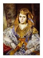 Algerian Woman, 1870 by Pierre-Auguste Renoir, 1870 - various sizes