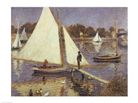 The Seine at Argenteuil, 1874 Fine Art Print