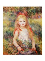 The Little Gleaner, 1888 Fine Art Print
