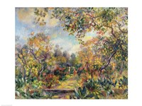 Landscape at Beaulieu, c.1893 Fine Art Print
