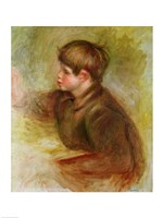 Portrait of Coco painting-12, 1910 by Pierre-Auguste Renoir, 1910 - various sizes