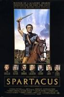 Spartacus Kirk Douglas Fine Art Print