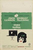 "Irma La Douce - Jack Lemmon - 11"" x 17"""