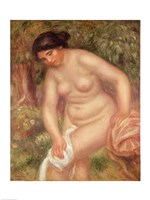 Bather drying herself, 1895 by Pierre-Auguste Renoir, 1895 - various sizes