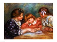The Lesson, 1906 by Pierre-Auguste Renoir, 1906 - various sizes