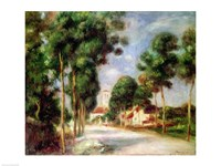 The Road to Essoyes, 1901 Fine Art Print