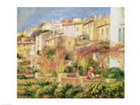 Terrace in Cagnes, 1905 Fine Art Print