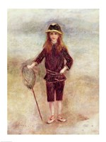 The Little Fisherwoman Fine Art Print