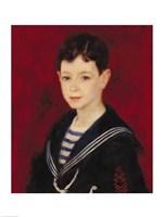 Portrait of Fernand Halphen Fine Art Print