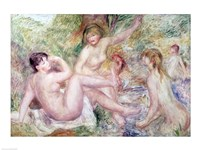 Study for the Large Bathers, 1885-1901 Fine Art Print