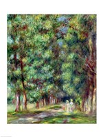 Path in a Wood, 1910 Fine Art Print