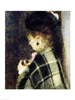 Young Woman with a Small Veil, c.1875 Fine Art Print