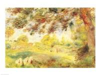 Spring Landscape by Pierre-Auguste Renoir - various sizes