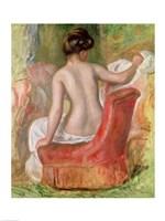 Nude in an Armchair, 1900 Fine Art Print