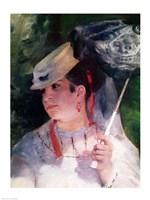 Portrait of Lise, 1867 Fine Art Print